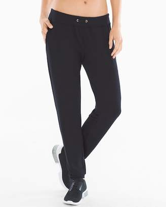 French Terry Shirred Bottom Pants