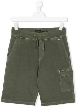 Woolrich Kids TEEN cargo pocket shorts