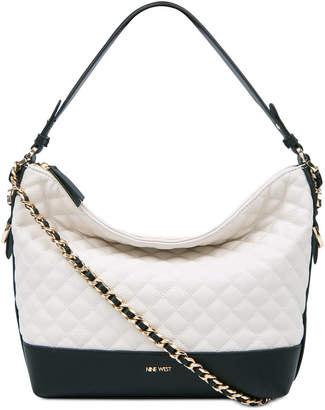 Nine West Elinora Quilted Chain Medium Hobo