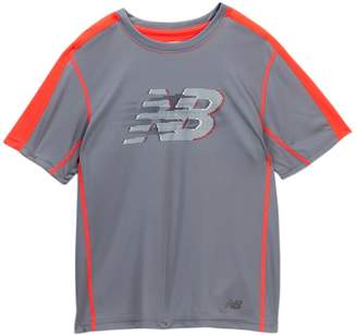 New Balance Short Sleeve Cationic Performance Tee (Big Boys)