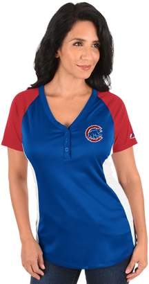 Majestic Plus Size Chicago Cubs League Diva Tee
