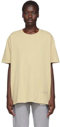 Essentials SSENSE Exclusive Beige Boxy T-Shirt