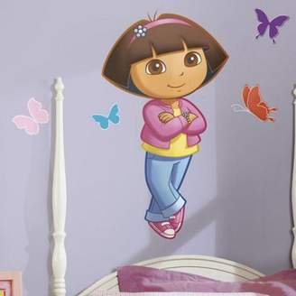 Nickelodeon Roommates Kids Wall Stickers, Dora Wall Stickers, Dora Peel & Stick Giant Wall Sticker