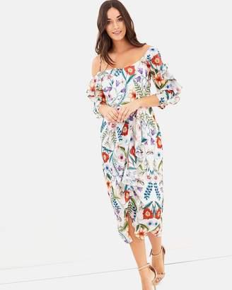 Cooper St Gardenia Vintage Asymmetric Dress