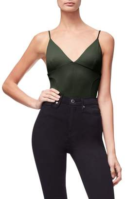 Good American Not So Basic Camisole Bodysuit