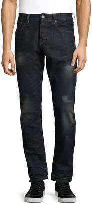 Scotch & Soda Men's Lot 22 Ralston Obsidian Flow Straight Fit Cotton Jeans