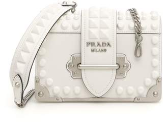 Prada Studded Cahier Bag