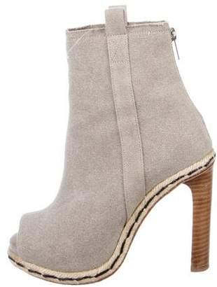 Opening Ceremony Peep-Toe Ankle Boots