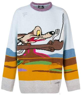 Calvin Klein Coyote printed sweater