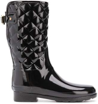 Hunter Refined short quilted wellies