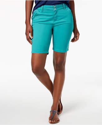 Lee Platinum Petite Twill Shorts