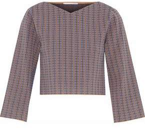 Stella McCartney Cropped Jacquard Top