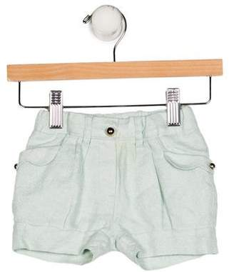 Chloé Girls' Metallic Mini Shorts