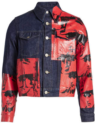Calvin Klein x Andy Warhol Denim Jacket