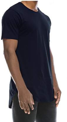 Stylish&Young Mens Casual Basic Hipster Hip Hop Round Neck Short Sleeve Slim Fit T Shirts (XL, )