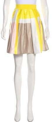 Pinko Pleated Knee-Length Skirt