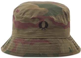 524cd113e45 Fred Perry Authentic x Arktis Camo Bucket Hat