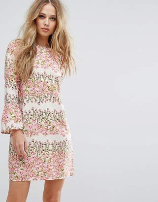 Vero Moda Floral Print Shift Dress