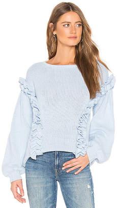Tularosa Ruffle Sweater