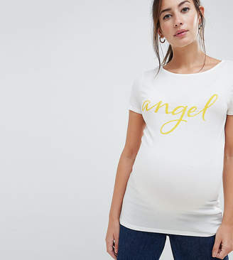 Mama Licious Mama.licious Mamalicious Angel T-Shirt