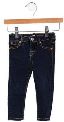 7 For All Mankind Girls' Mid-Rise Skinny Jeans