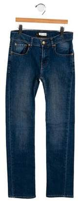 Finger In The Nose Girls' Five Pocket Denim Bottoms