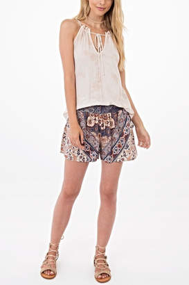 Others Follow Printed Shorts