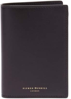 Dunhill Duke Bi Fold Leather Cardholder - Mens - Black