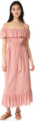 Marysia Swim Off Shoulder Cover Up Dress $649 thestylecure.com