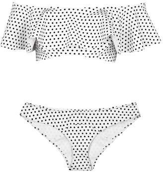 Lisa Marie Fernandez Mira Polka-dot Bikini