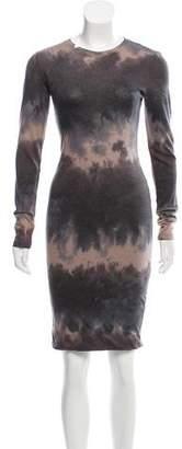 Raquel Allegra Tie-Dye Knee-Length Dress w/ Tags