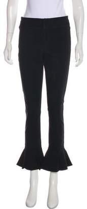 Isabel Marant Mid-Rise Wide-Leg Pants