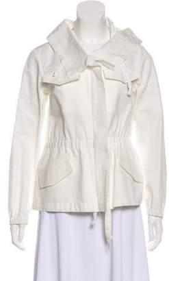 Dries Van Noten Hooded Zip-Up Jacket