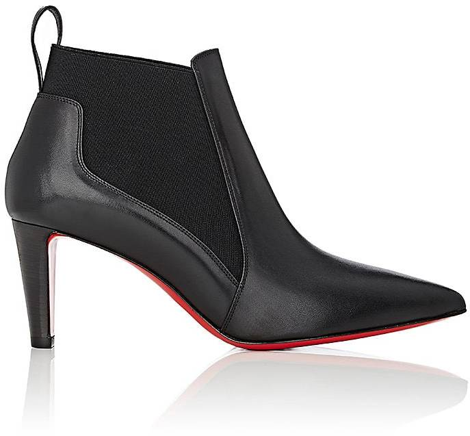 Christian Louboutin Women's Verafusa Leather Ankle Boots