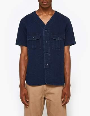 Neighborhood N.C. SS Shirt in Indigo