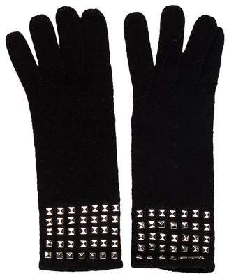 MICHAEL Michael Kors Wool Studded Gloves