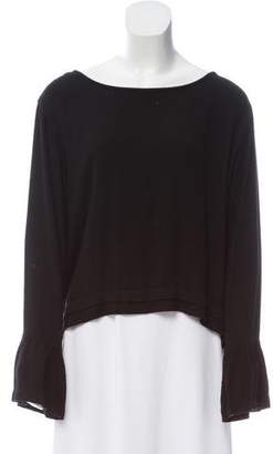 Bella Dahl Long Sleeve Scoop Neck Top w/ Tags