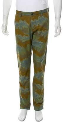 Wings + Horns Splash Camo Cropped Pants