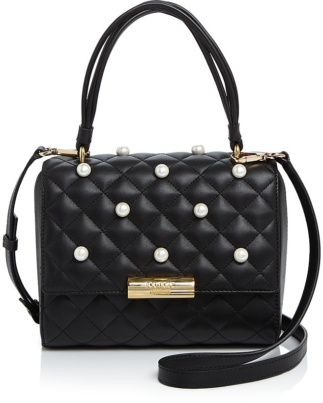 MoschinoBoutique Moschino Faux-Pearl Satchel