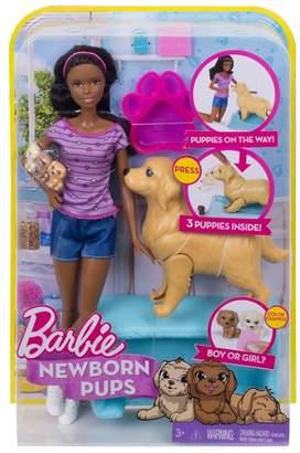 Mattel Barbie - 'Newborn Pups' Doll Playset
