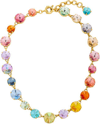 Swarovski Roxanne Assoulin Crystal And Gold-Plated Necklace