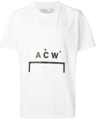 A-Cold-Wall* bracket logo printed cotton t-shirt