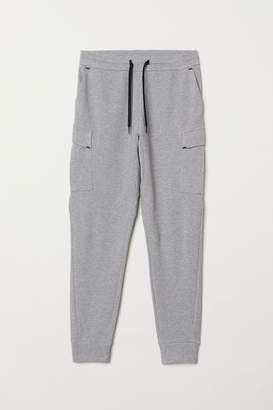 H&M Sports Pants with Pockets - Gray