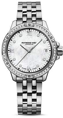 Raymond Weil Tango Diamond Bezel Watch, 30mm