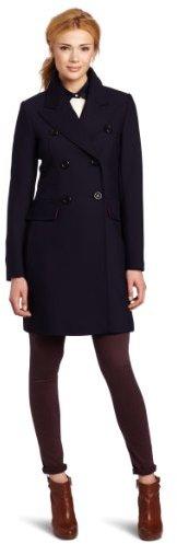 Trina Turk Women's Soho Classic Reefer Coat