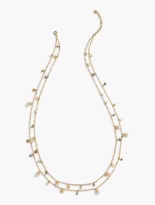 Talbots Delicate Mixed Beads Necklace