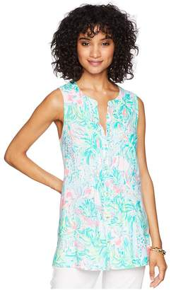 Lilly Pulitzer Sleeveless Sarasota Top Women's Clothing