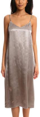 Warehouse ATM Deep V Slip Dress