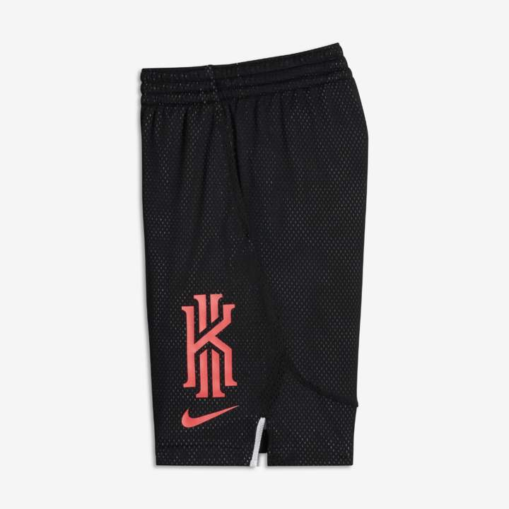 Dri-FIT Kyrie Big Kids' (Boys') Basketball Shorts Size XS (Black)