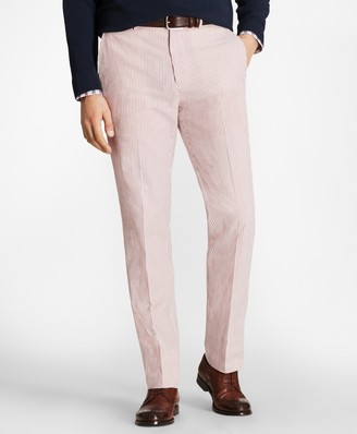 Brooks Brothers Regent Fit Seersucker Trousers